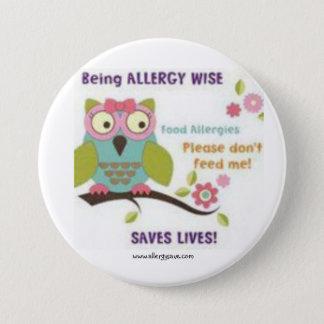 Badges Étant allergie sage - insigne de conscience