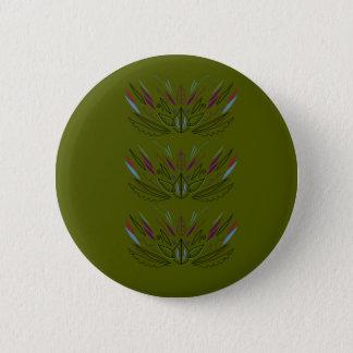 Badges Ethno vintage de conception d'olives