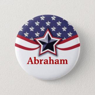 Badges Étiquettes patriotiques de nom d'élection de