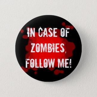 Badges Expert en matière de zombi (noir)