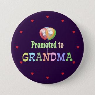 Badges Favorisé à la grand-maman, célébration de ballons