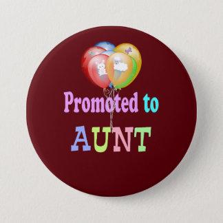 Badges Favorisé à la tante, célébration de ballons