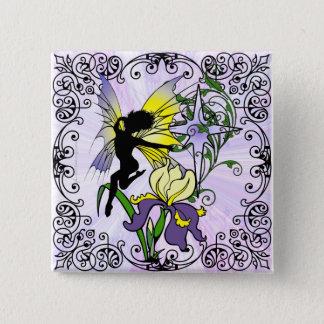 Badges Fée d'ombre d'iris