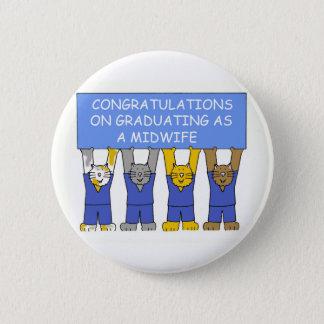 Badges Félicitations sur recevoir un diplôme en tant que