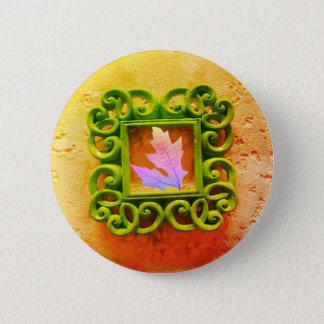 Badges Feuille dans un cadre