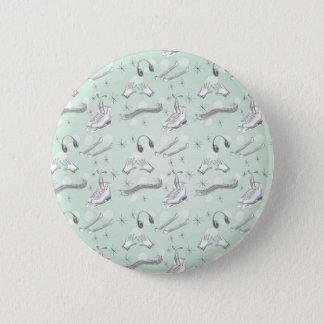 Badges Figure objets à offrir de vert de menthe d'art de