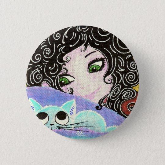 Badges fille au chat 1