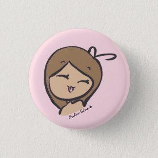 Badges Fille Emoji - bouton doux
