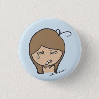Badges Fille Emoji - se tapissent le bouton