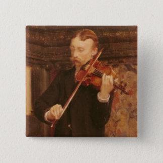 Badges Fils d'Alma-Tadema   Maurice jouant le violon