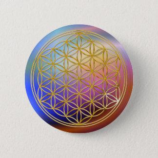 Badges Fleur d'or de la vie |, petite