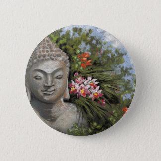 Badges Fleurs de Bouddha et de jungle