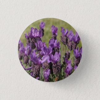 Badges Fleurs de pré de lavande