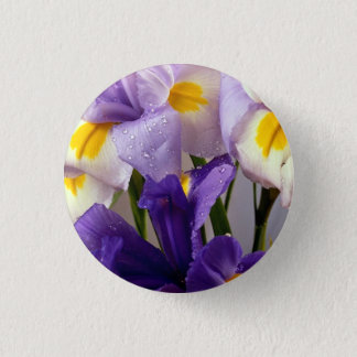 Badges Fleurs d'iris