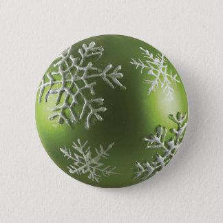 Badges Flocon de neige vert
