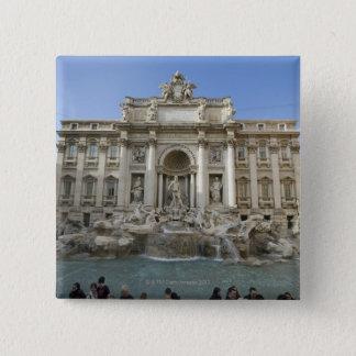 Badges Fontaine historique de TREVI à Rome, Italie