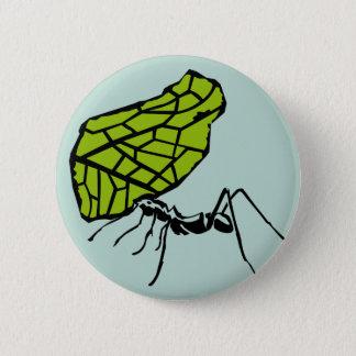 Badges Fourmi de coupe de feuille nature Stencil