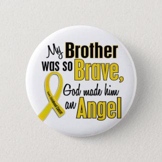 Badges Frère de l'ANGE 1 de Cancer d'enfance