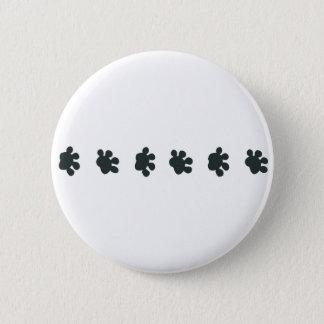 Badges Frontière de patte de chien