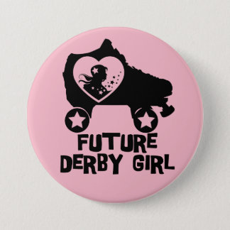 Badges Future fille de Derby, conception de patinage de