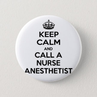 Badges Gardez le calme et appelez un anesthésiste