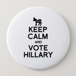 Badges GARDEZ le CALME ET VOTEZ HILLARY.png