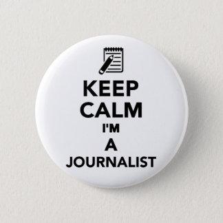 Badges Gardez le calme que je suis un journaliste