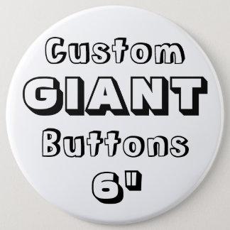 """Badges Géant 6"""" insigne de Pin de bouton"""