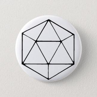 Badges Geek de table de Gamer de conception du