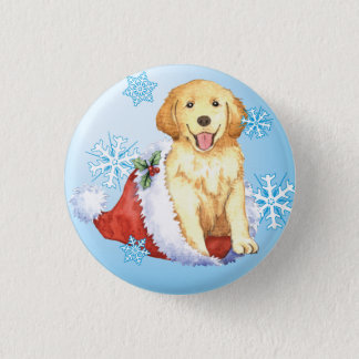 Badges Golden retriever heureux de Howliday