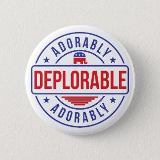 Badges Goupille adorable déplorable de bouton