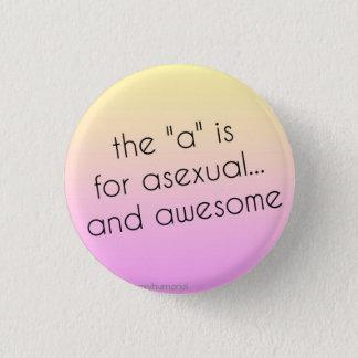 Badges Goupille asexuelle de fierté