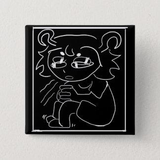 Badges goupille de cube en inquiétude