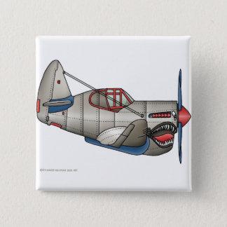 Badges Goupilles d'avion de combat de 2ÈME GUERRE
