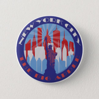 Badges Grand Apple patriote de NYC