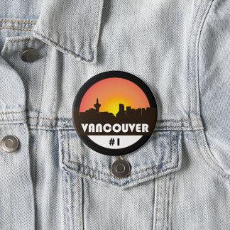 Badges Grand bouton de 3 pouces avec le logo de Vancouver