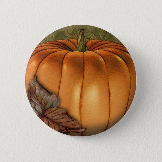 Badges Grand citrouille d'automne