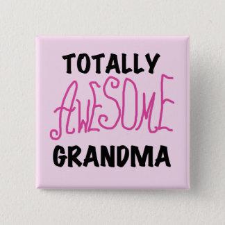 Badges Grand-maman totalement impressionnante - T-shirts