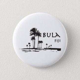 Badges Graphique de palmier de Bula Fidji