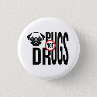 Badges Graphiques de typographie de drogues de carlins