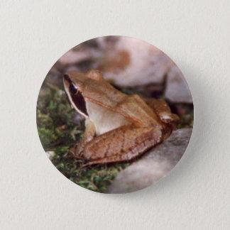 Badges Grenouille en bois