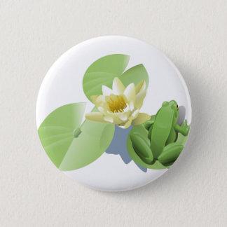 Badges Grenouille sur une protection de Lilly
