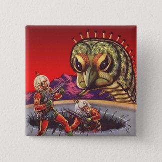 Badges Guerre géante vintage d'insecte de centipède de la