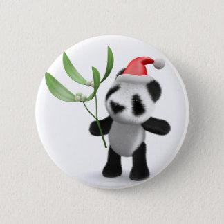 Badges gui de panda du bébé 3d