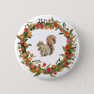 Badges Guirlande de chute avec la couleur pour aquarelle