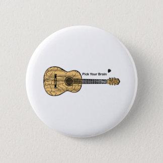 Badges Guitare : Sélectionnez votre cerveau