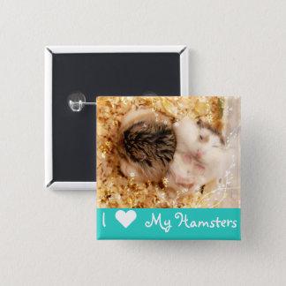 Badges Hammyville - hamsters mignons
