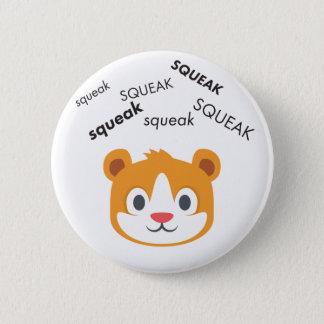 Badges Hamster Emoji mignon de grincement