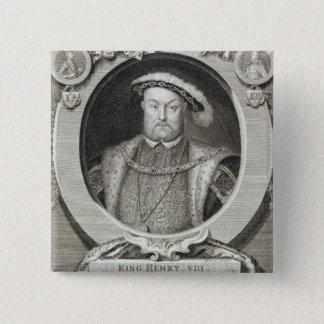 Badges Henry VIII (1491-1547), après une peinture dans le
