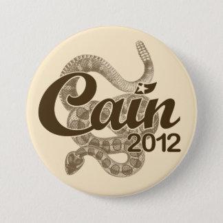 """Badges Herman Caïn pour le président 2012 DTOM """"bouton de"""